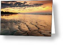 Ripples On The Coast Greeting Card