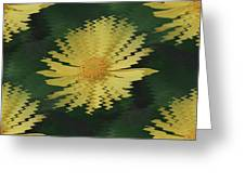 Rippling Daisies  Greeting Card