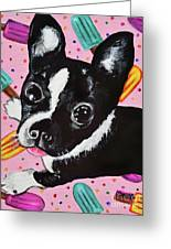 Popsicle Pup Greeting Card