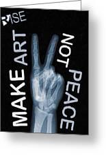 Rise Peace Greeting Card