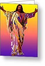 Risen King Greeting Card