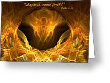 Risen Greeting Card