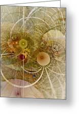 Rising Spring - Fractal Art Greeting Card