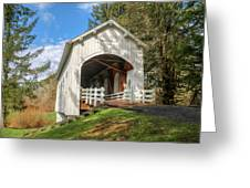 Ritner Creek Covered Bridge 0739 Greeting Card