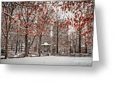 Rittenhouse Snowscape Greeting Card