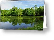 Ritter Springs Pond Greeting Card