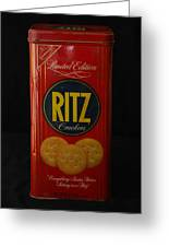 Ritz Crackers Greeting Card