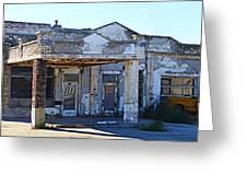 Ritzville Ruins Greeting Card