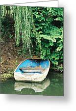 River Avon Boat Greeting Card