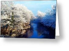 River Bann, Co Armagh, Ireland Greeting Card
