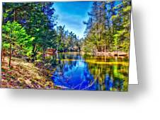 River Bend View Greeting Card