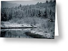 River Bend Winter Greeting Card