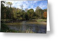 River Bends Greeting Card