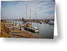 River Blyth Greeting Card