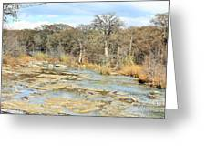 River Bottom Greeting Card