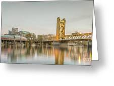 River City Waterfront Greeting Card
