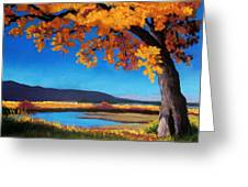 River Cottonwood Greeting Card