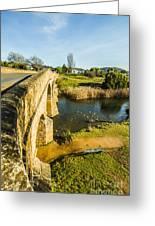 River Crossing Greeting Card