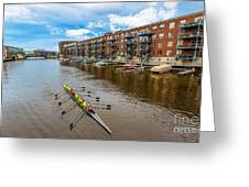 River Cruis'n Greeting Card