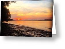 River Danube Greeting Card