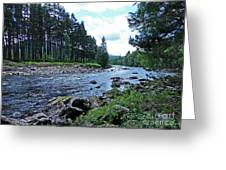 River Dee In Summer Greeting Card