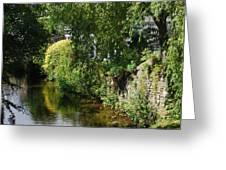 River Eea Cartmel Cumbria Greeting Card