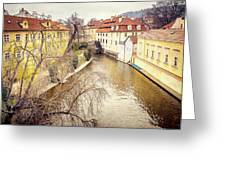 River Ends Greeting Card