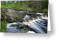 River Flow V Greeting Card