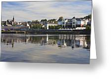 River Foyle Greeting Card