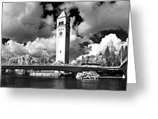 River Front Park Spokane Greeting Card