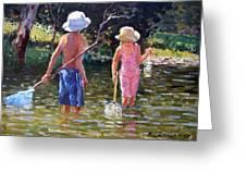 River Fun Greeting Card