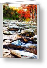River Gone Greeting Card