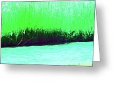 River Grasses 3 Greeting Card