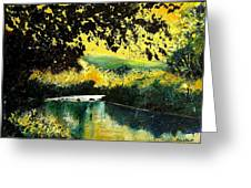 River Houille  Greeting Card
