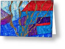 River House Greeting Card