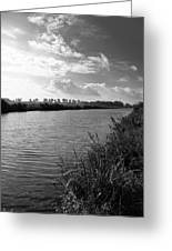 River In Germany Greeting Card