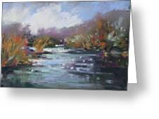 River Jewels Greeting Card