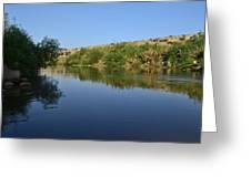 River Jordan Greeting Card by Atul Daimari