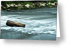 River Motion Greeting Card