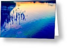 River Musing Greeting Card