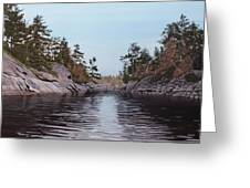 River Narrows Greeting Card
