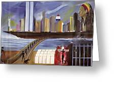 River Of Babylon  Greeting Card