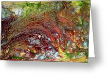 River Of Color Greeting Card