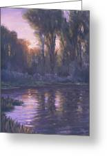 River Of Light Greeting Card
