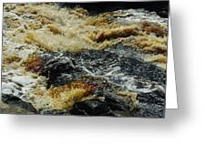 River On The Rocks Greeting Card