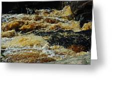 River On The Rocks IIi Greeting Card