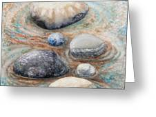 River Rock 2 Greeting Card
