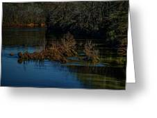 River Rock Island Greeting Card