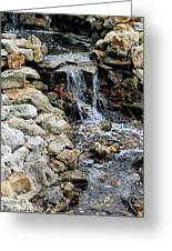 River Rock Of The Unknown Greeting Card