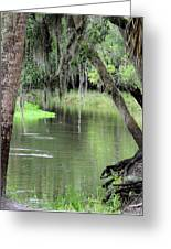 River Scenic Greeting Card